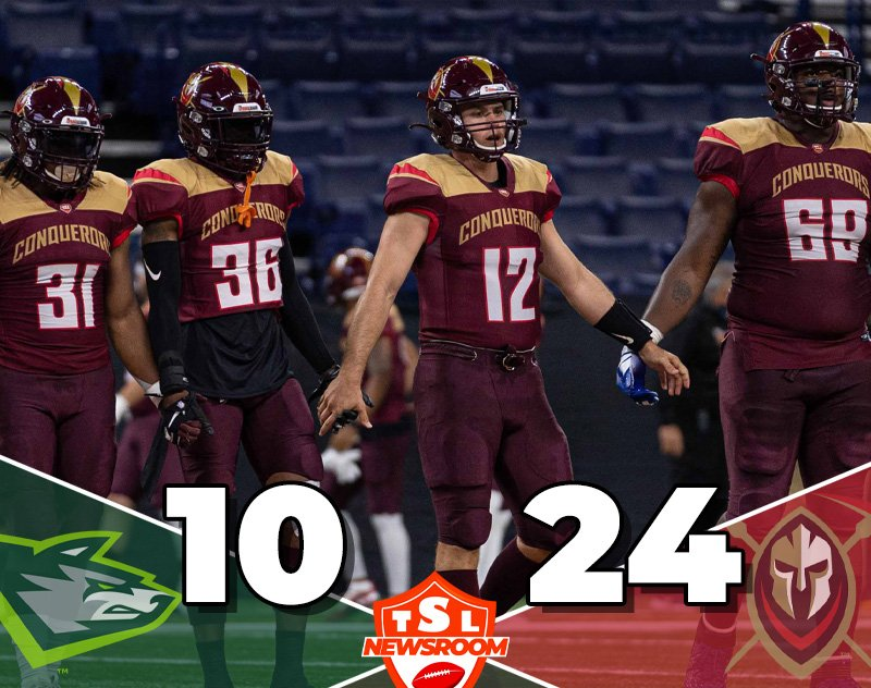The Conquerors Conquer the Alphas 24-10 in Week 5 Kickoff
