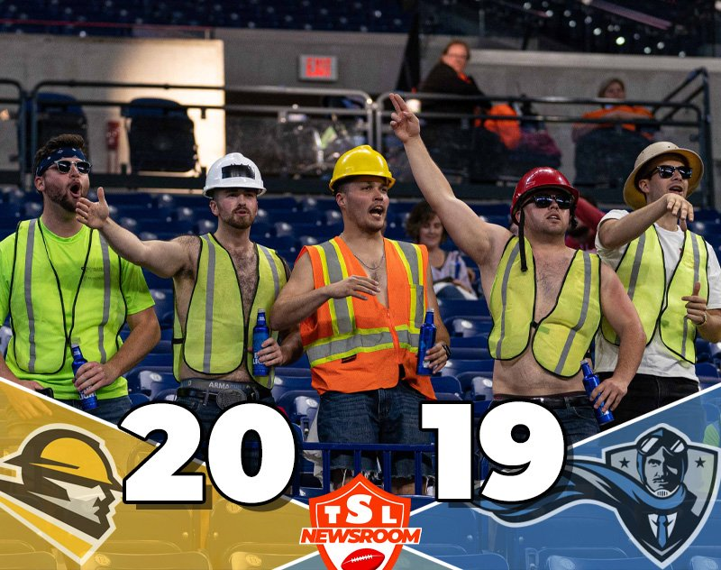 The Linemen Comeback to Defeat the Aviators 20-19