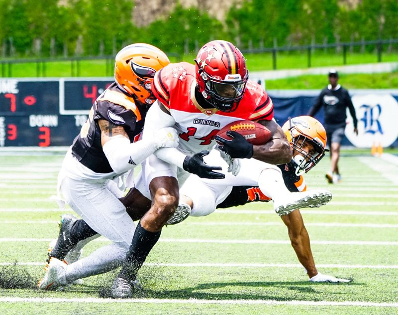 Standings and Highlights from Week Five of The Spring League