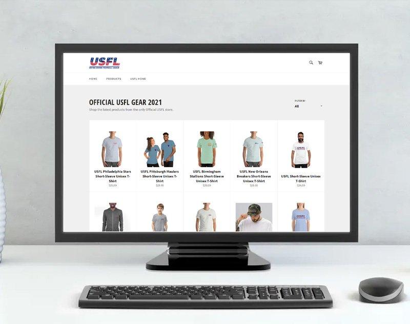 USFL Opens Shop — Potentially Reveals 4 Team Names