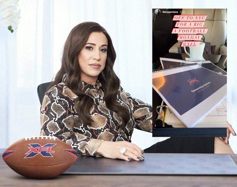Dany Garcia's Latest XFL Tease Includes the NFL